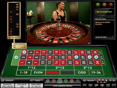 europeische live roulette casino