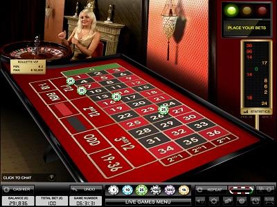 live roulette vip tafel